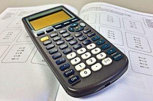 Bild eines Taschenrechners