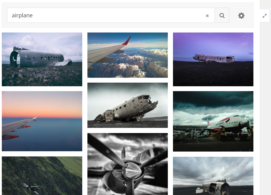 Screenshot: Nach Stichwort suchen